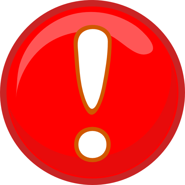 Red exclamation mark png. Clip art at clker