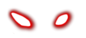 Eye glow image . Red eyes meme png graphic library library