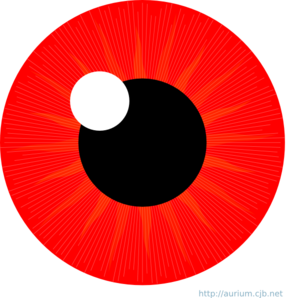 Red eye meme png. Make with clipart