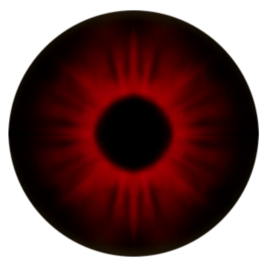Red eyeball png. Teen wolf alpha eye