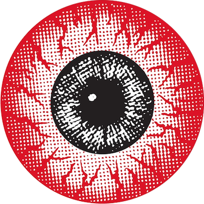 Red eyeball png. Image eye records logo