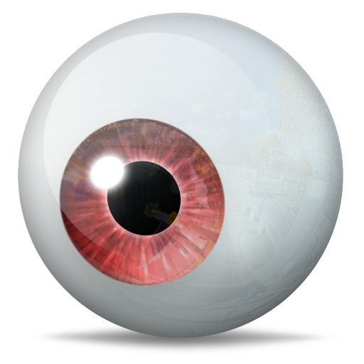 Red eyeball png. Eye icon the icons