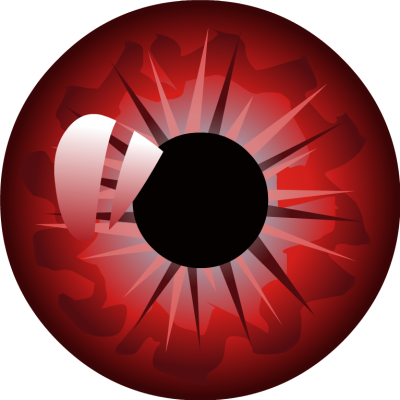Red eyeball png. Samar editor eyes