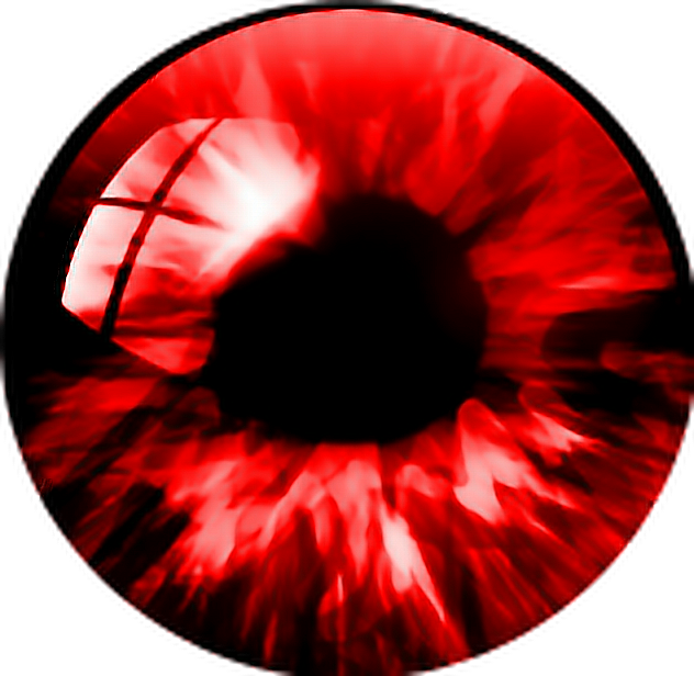 Red eyeball png. Eye eyes vampire love