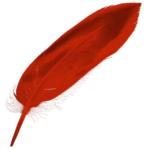 red feather png