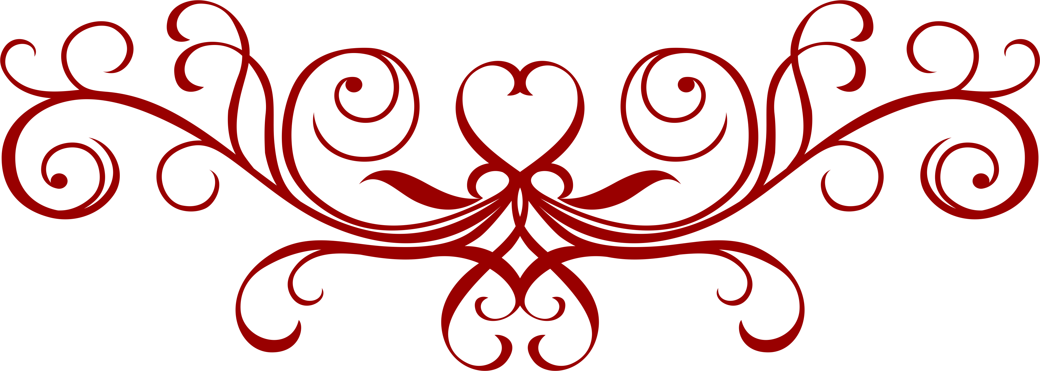 Red filigree images png. Free download clip art