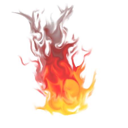Red flame png. New fire transparent free