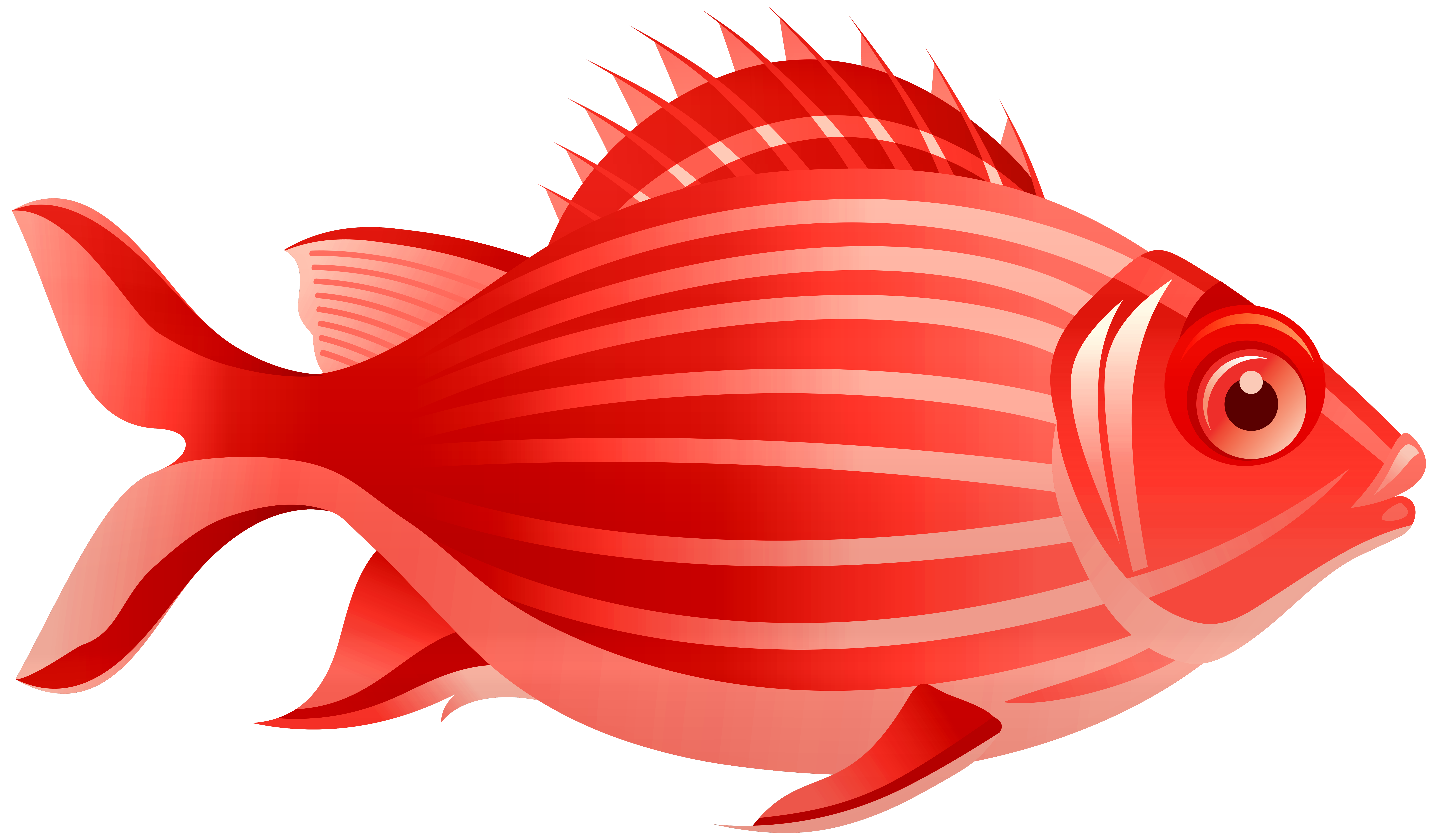 Clip art best web. Red fish png jpg black and white library