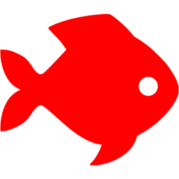 Icon free animal icons. Red fish png banner library stock