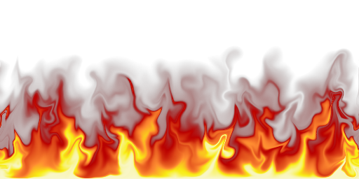 Red flames png. By zorchenhimer on deviantart