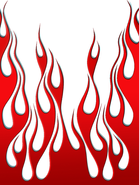 Red flames png. Vector psd official psds