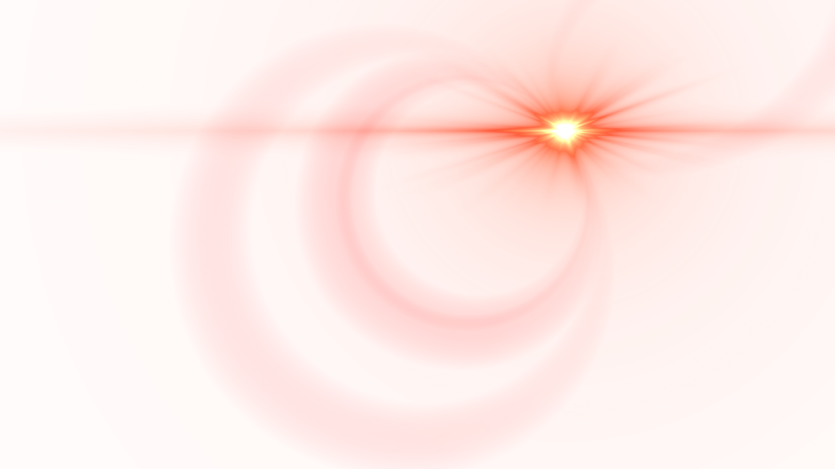 Red flare effect png. Side lens image purepng