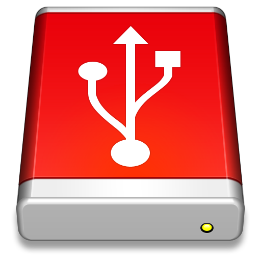 Red flash png. Usb drive image purepng