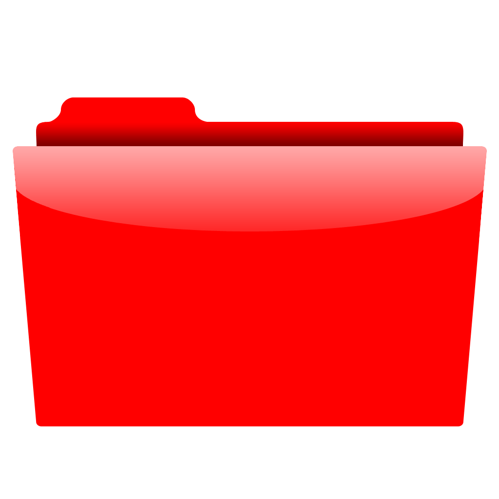 red folder icon png