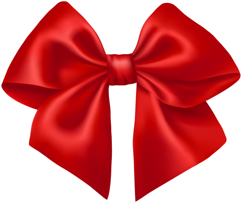 Red gift bow png. Ribbon clipart la os