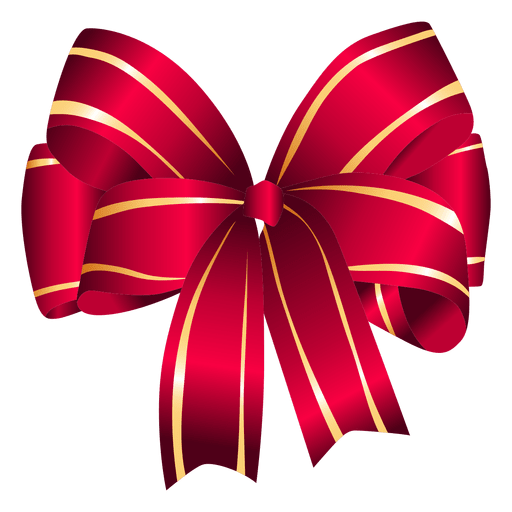 Red gift bow png. Transparent svg vector