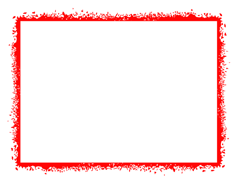 Red grunge border png. Frames and borders full