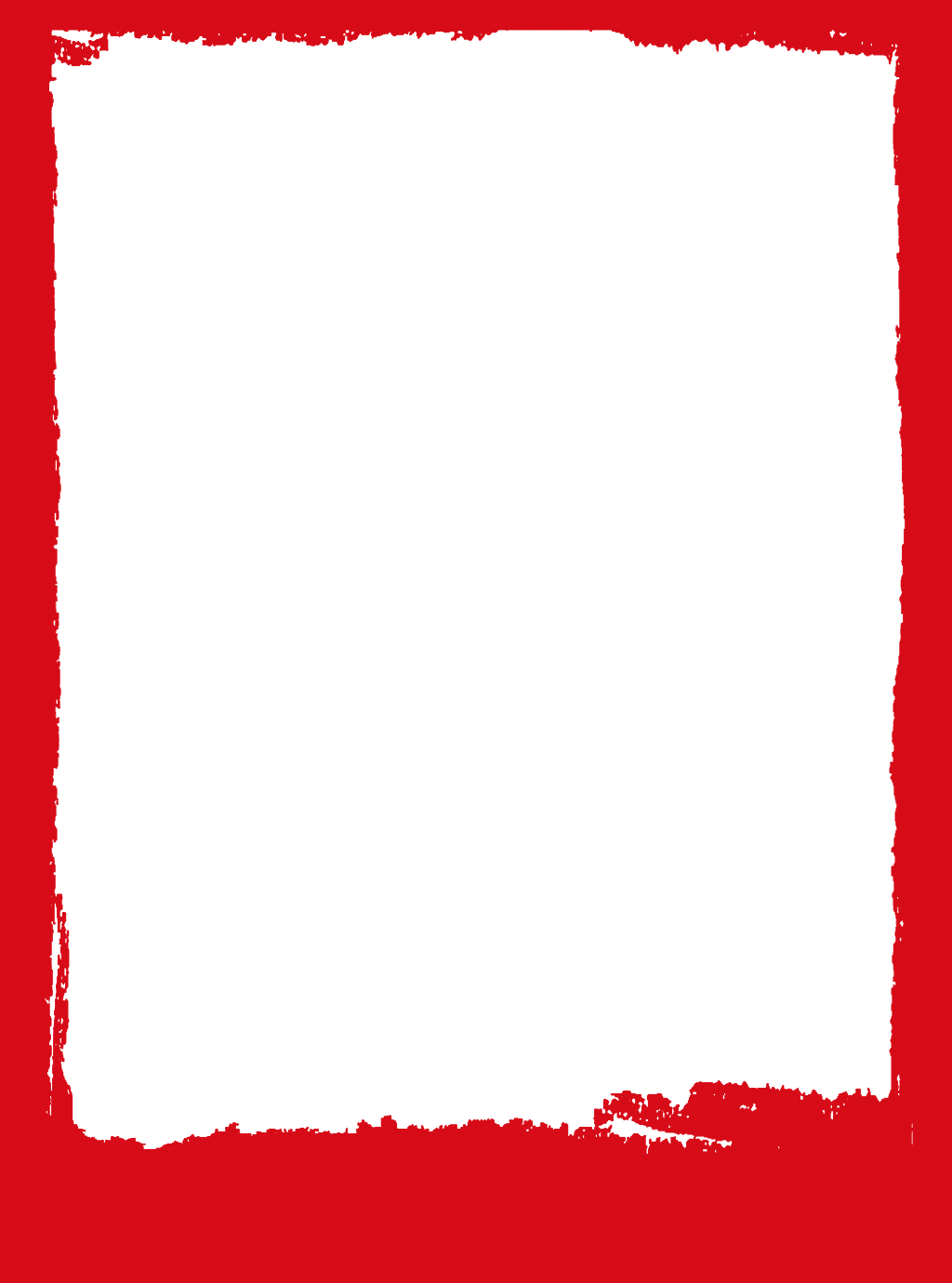 Red grunge border png. Chinese asian frame ftestickers