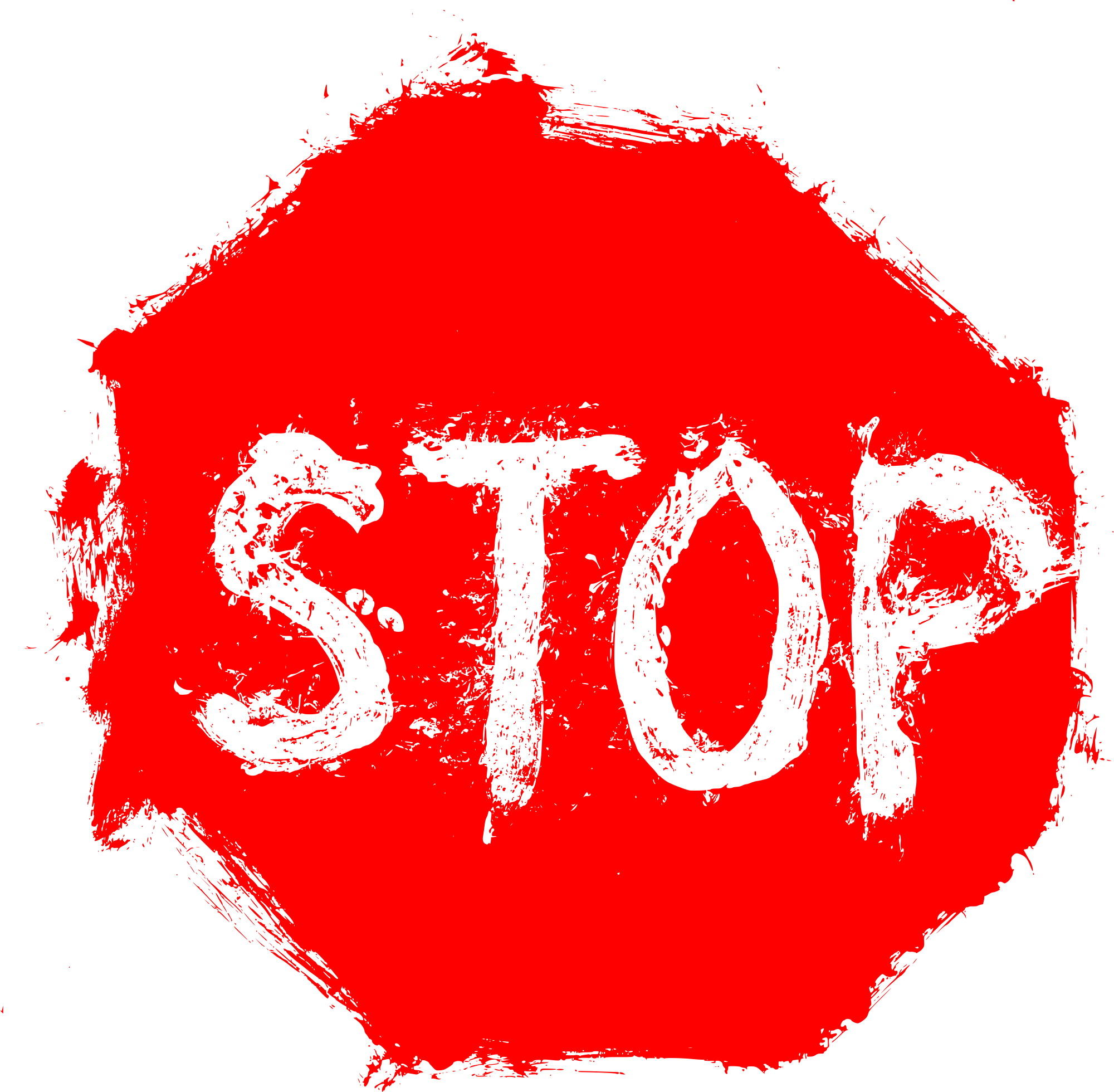 Stop sign transparent onlygfx. Red grunge png picture royalty free library