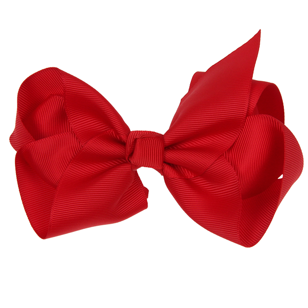 Red hair bow png. Cm ribbon ruby