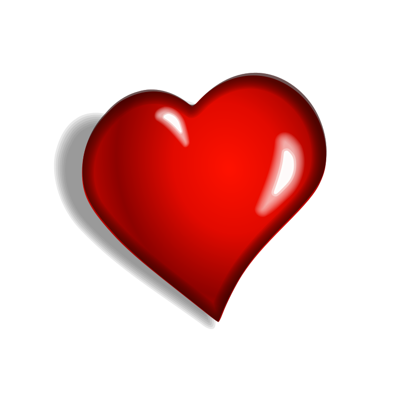 Red heart clipart png. File redheart wikimedia commons