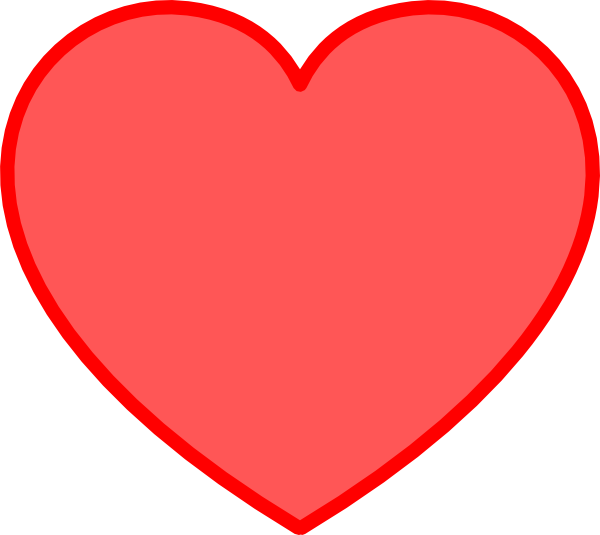 Red heart clipart png. Free love pictures download