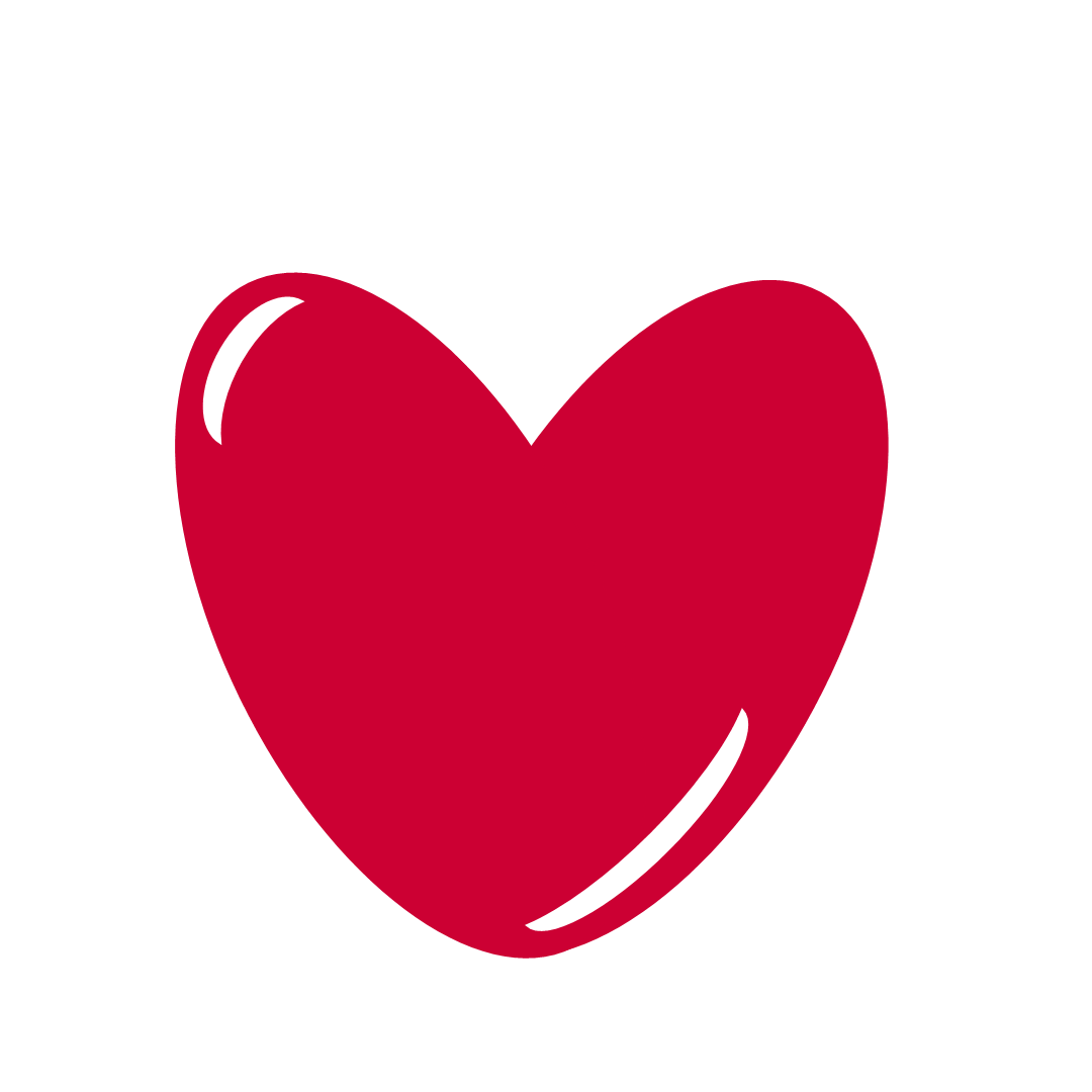 Red heart clipart png. Clip art