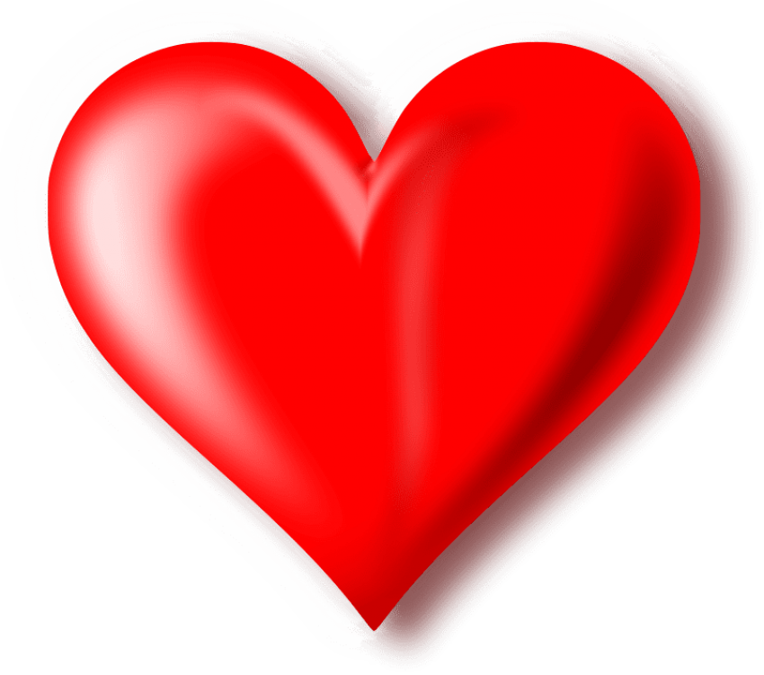 Red heart clipart png. Download photo toppng