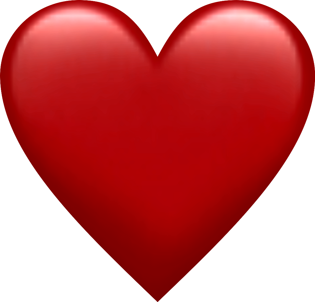 Red heart emoji png. Love pixle sticker by