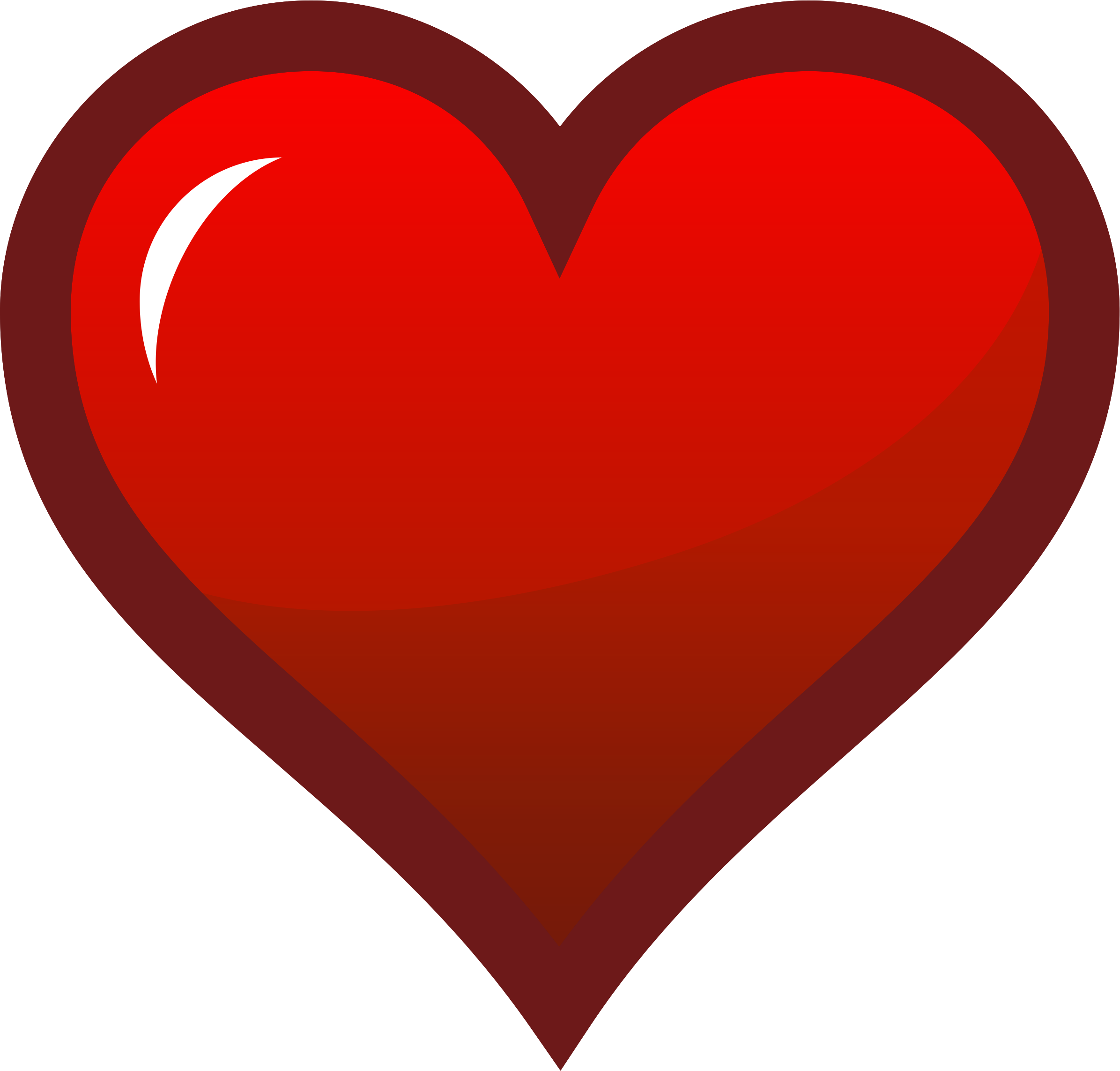 Red heart icon png. Icons free and downloads