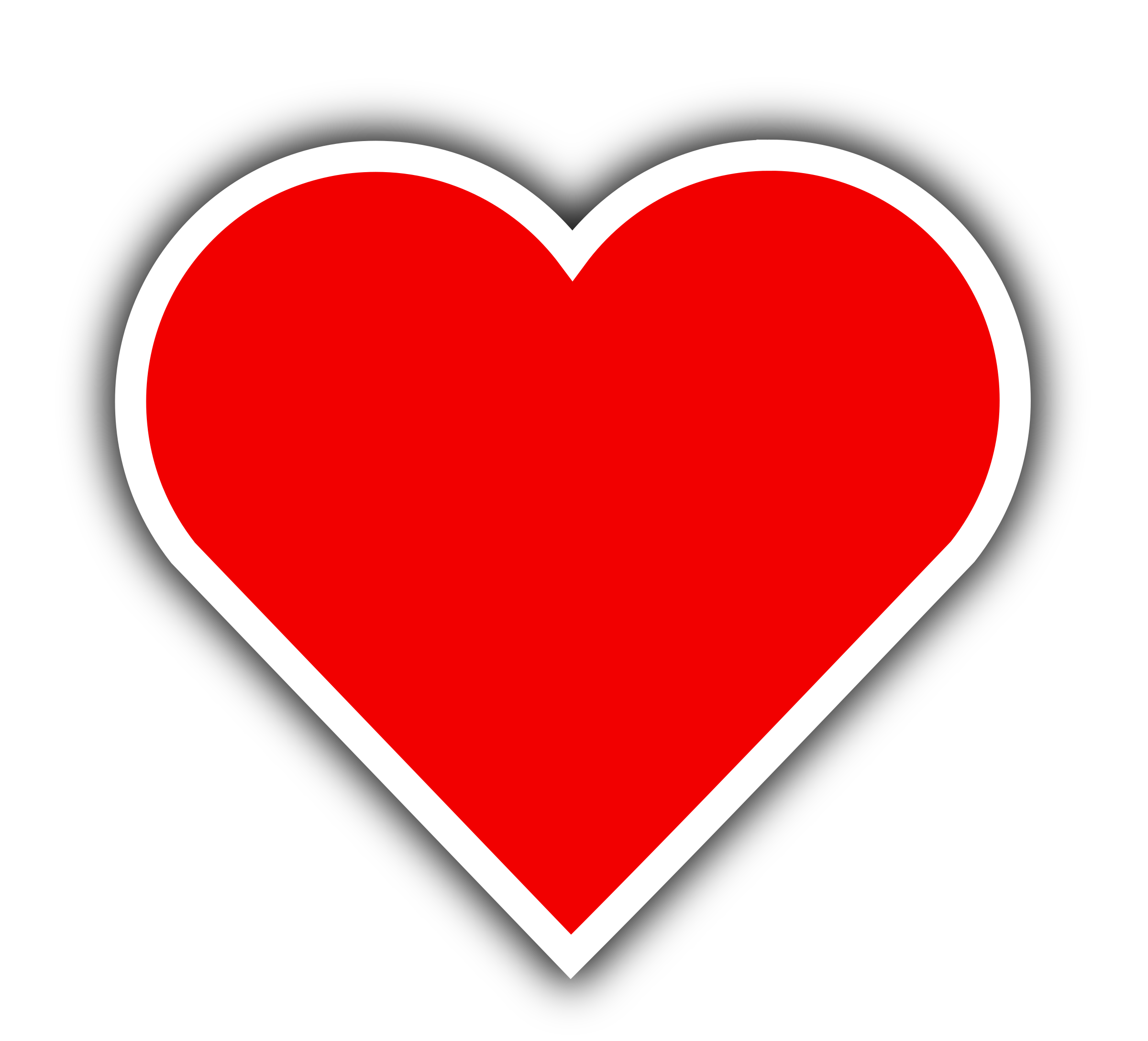 Red heart icon png. Simple icons free and