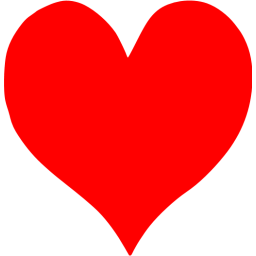 Red heart icon png. Free icons