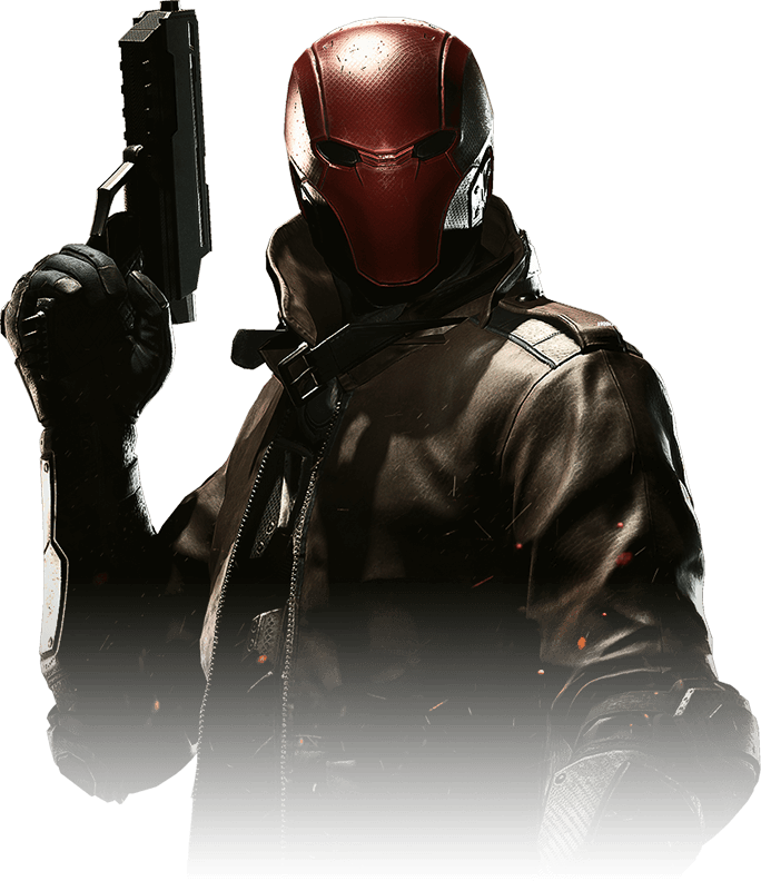 Red hood png. Injustice portrait by darkvoidpictures