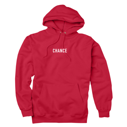 Red hoodie png. Chance the rapper
