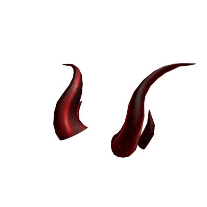 Red horns png. Image iron roblox wikia