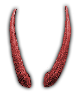 Red horns png. Index of mapping objects