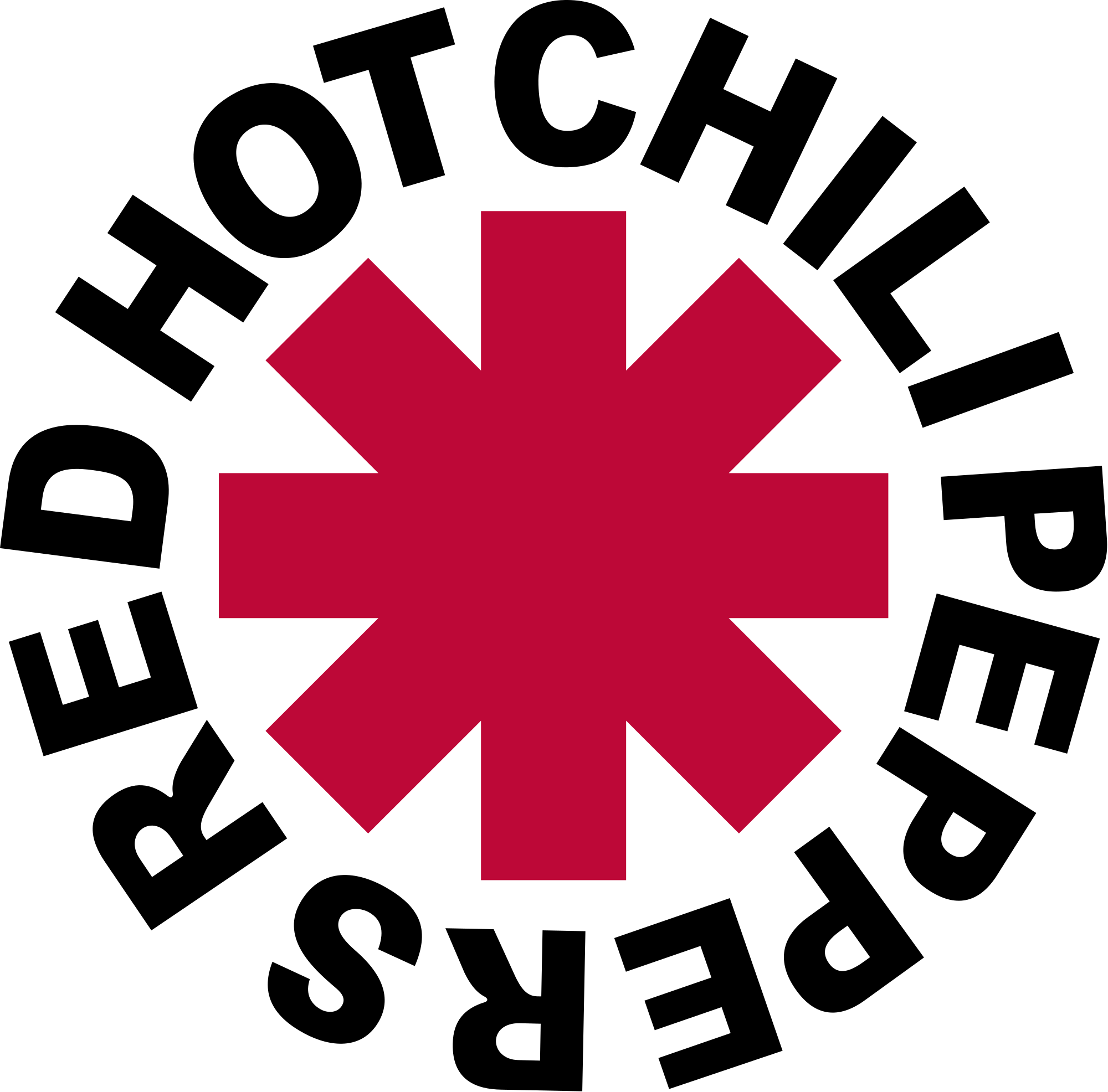 Red hot chili peppers logo png. File rhcp svg wikimedia