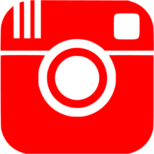 Red instagram png. Icon free social icons