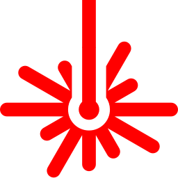 Red laser png. Free beam icon download