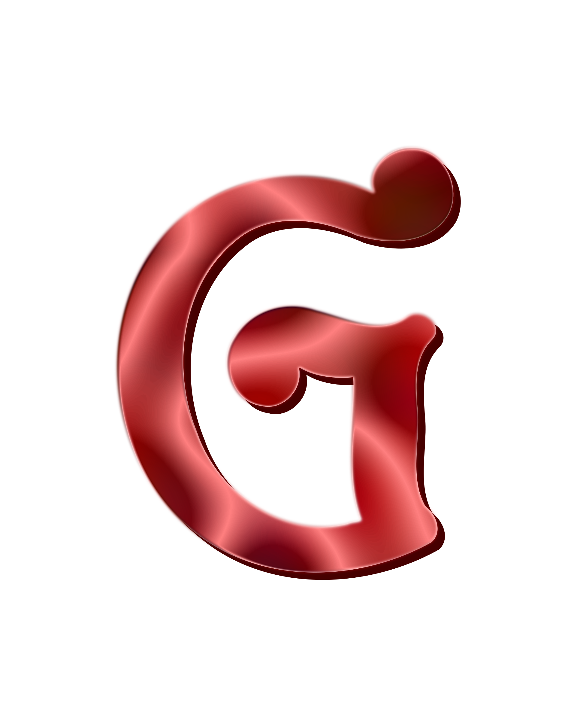 Transparent g big letter. Alphabet icons png free