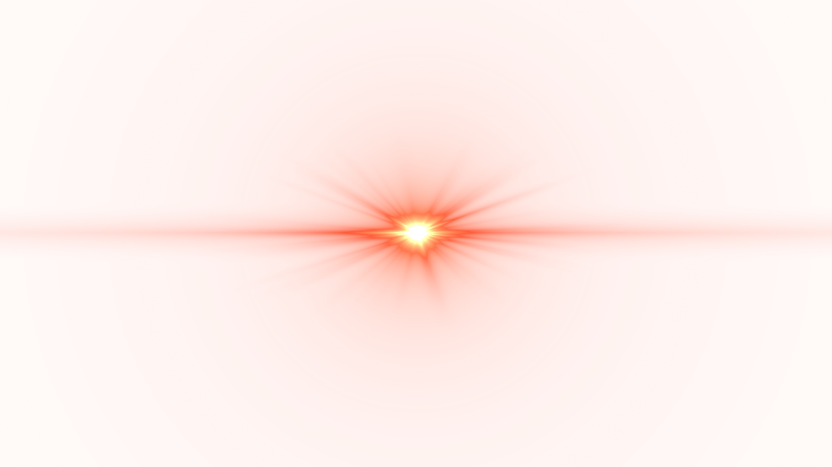 Red light effect png. Front lens flare image