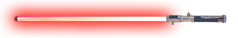 Saber transparent red. Build your own sci