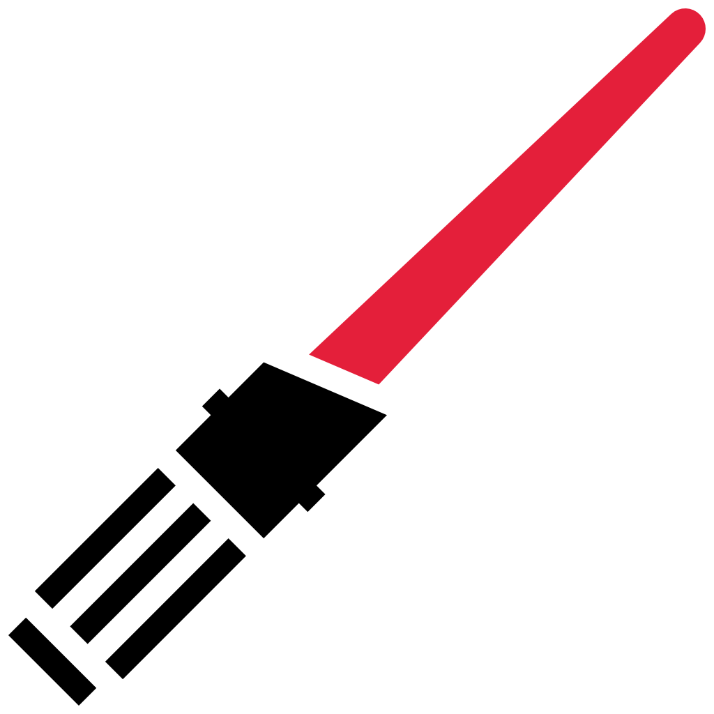 Red lightsaber png. Icon free star wars