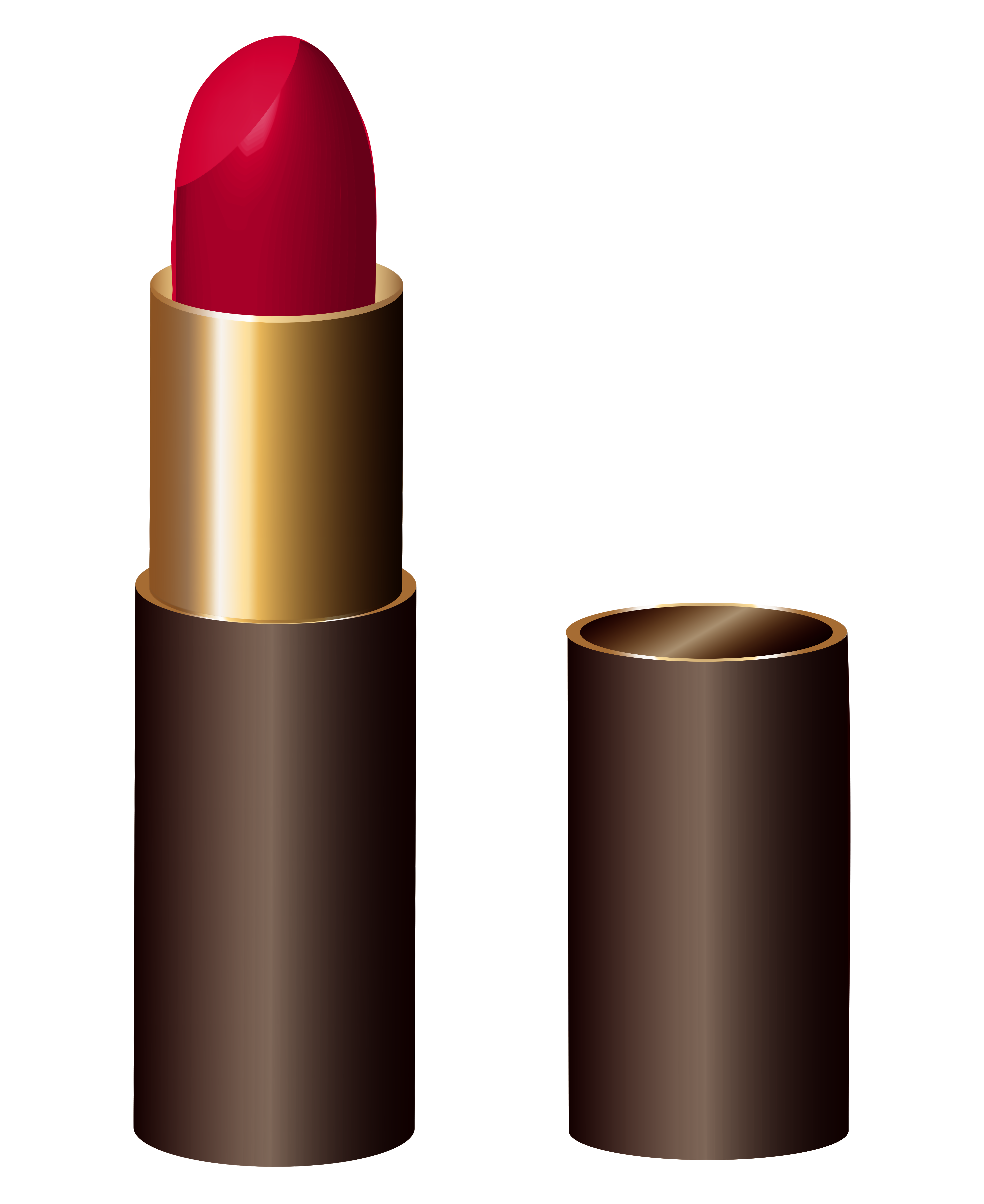 Drawing mac lipstick. Red png clipart image