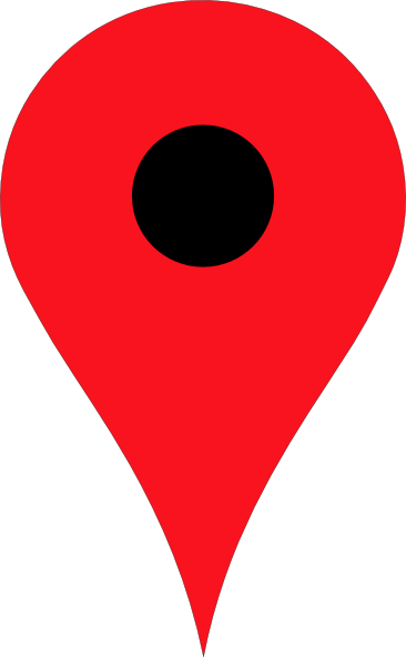 Red location pin png. Clip art at clker