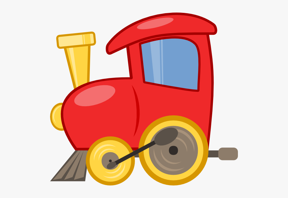Red locomotive. Caboose clipart free cliparts