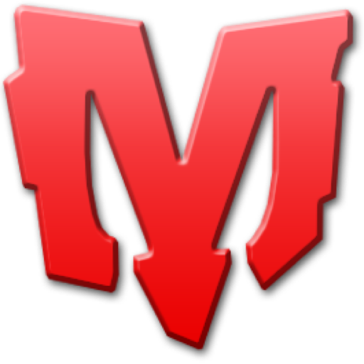 Red m png. Letter image transparent arts