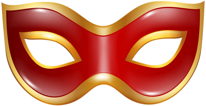 Carnival transparent red. Mask png free images