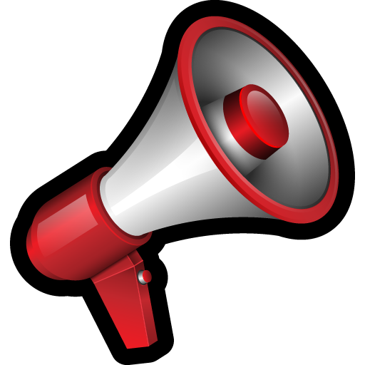 Red megaphone png. Tools and devices by