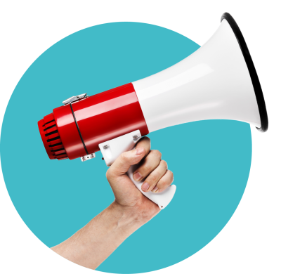 Red megaphone png. Download free and blue